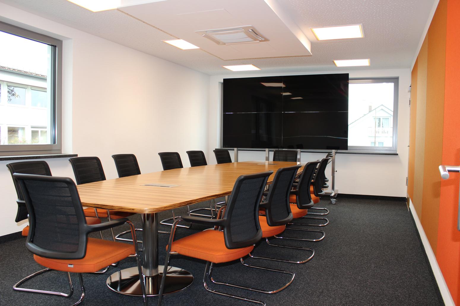 Blick in den Konferenzraum.